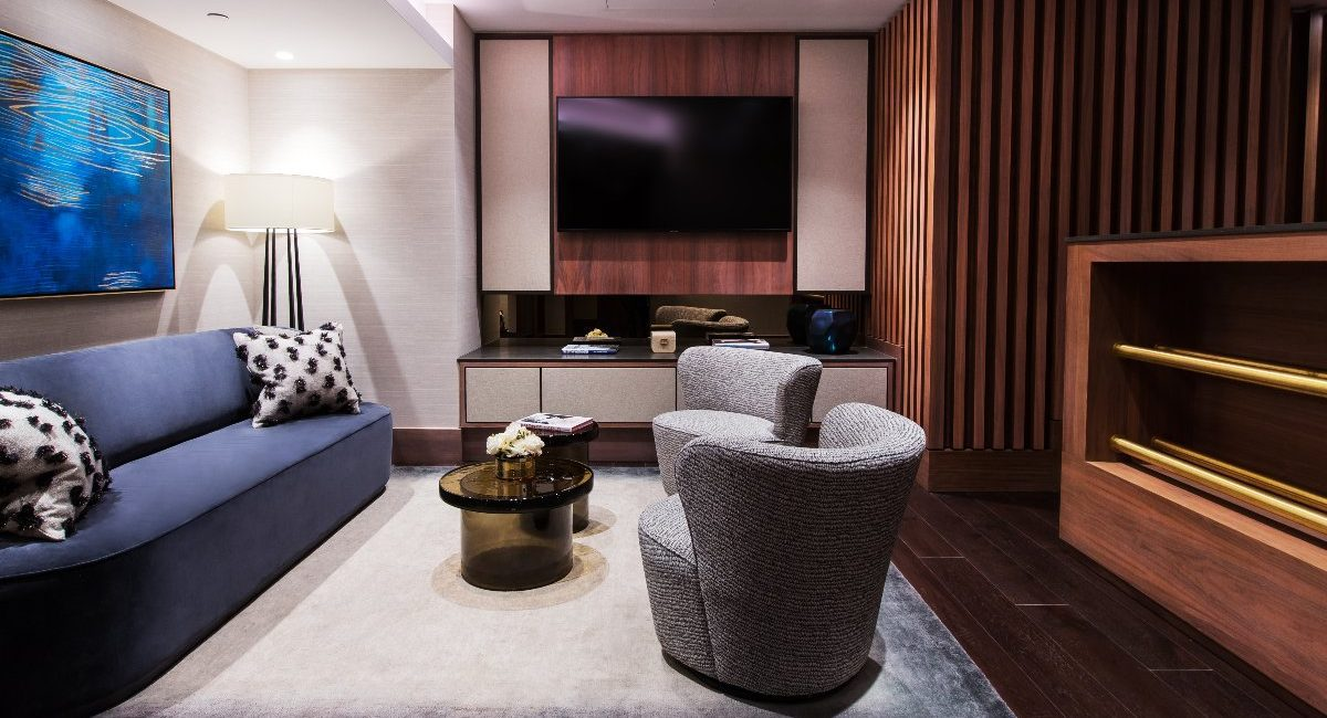 London Luxury Apartment Features Jaw-Dropping Home Theater, Bowling Alley and Billiards Room, slide 1