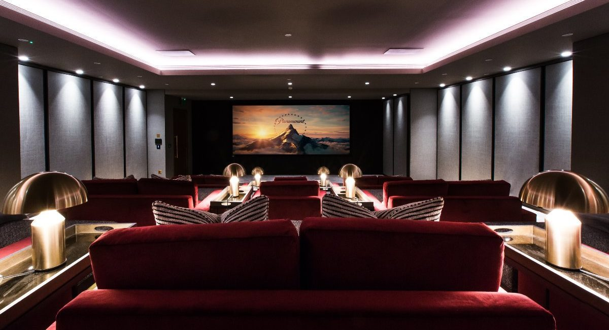 London Luxury Apartment Features Jaw-Dropping Home Theater, Bowling Alley and Billiards Room
