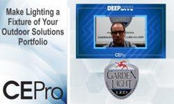 Garden Light LED outdoor deep dive CE Pro