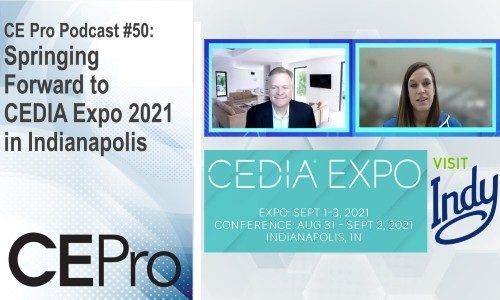 CE Pro Podcast CEDIA Expo 2021 Emerald Visit Indy