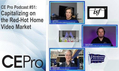 CE Pro Podcast video ISF Murideo Value Electronics