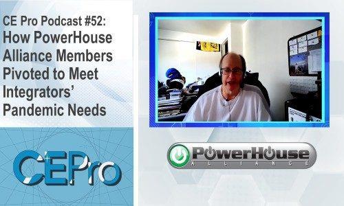 CE Pro Podcast PowerHouse Alliance Dennis Holzer