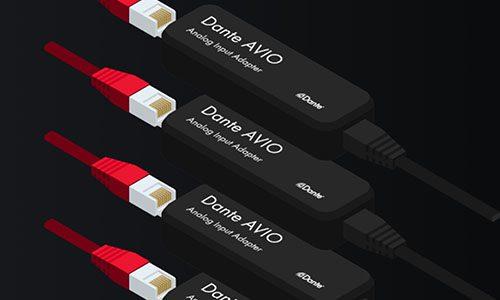 Audinate Dante AVIO USB-C adapter