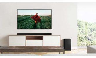 LG Soundbars with Meridian Horizon technologies