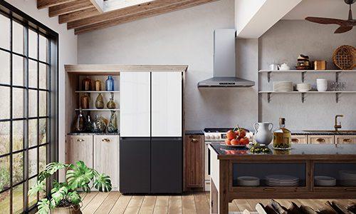 Samsung BESPOKE series of refrigerators