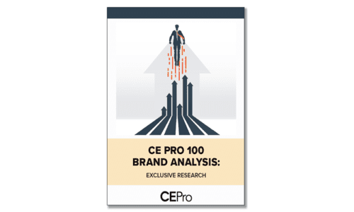 Discover the 2021 CE Pro 100 Brand Analysis Leaders