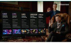 Hisense 2021 TV product line