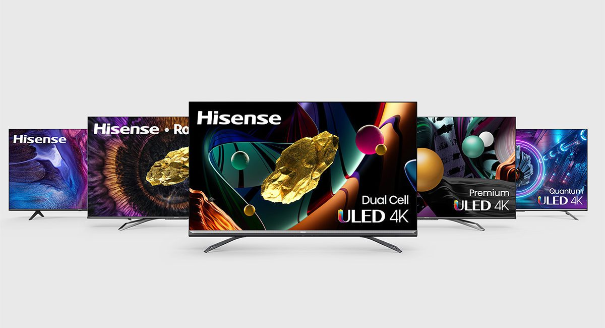 Hisense 2021 TVs Include Dual-Cell, Dolby Vision and 8K Models