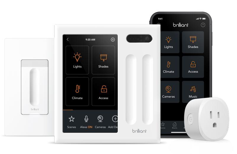 Brilliant smart home ESD Technologies