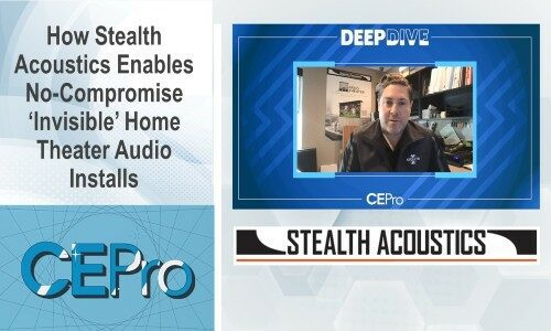 How Stealth Acoustics Enables No-Compromise 'Invisible' Home Theater Audio Installs
