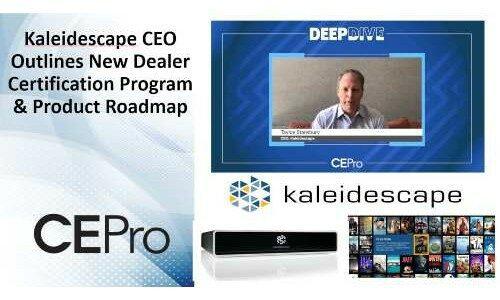 Kaleidescape: New Online Dealer Certification Program Introduced