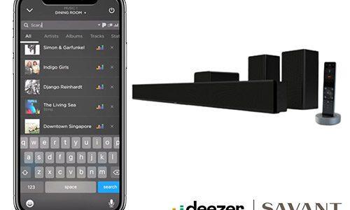 Savant Pro 9.4 OS Deezer HiFi