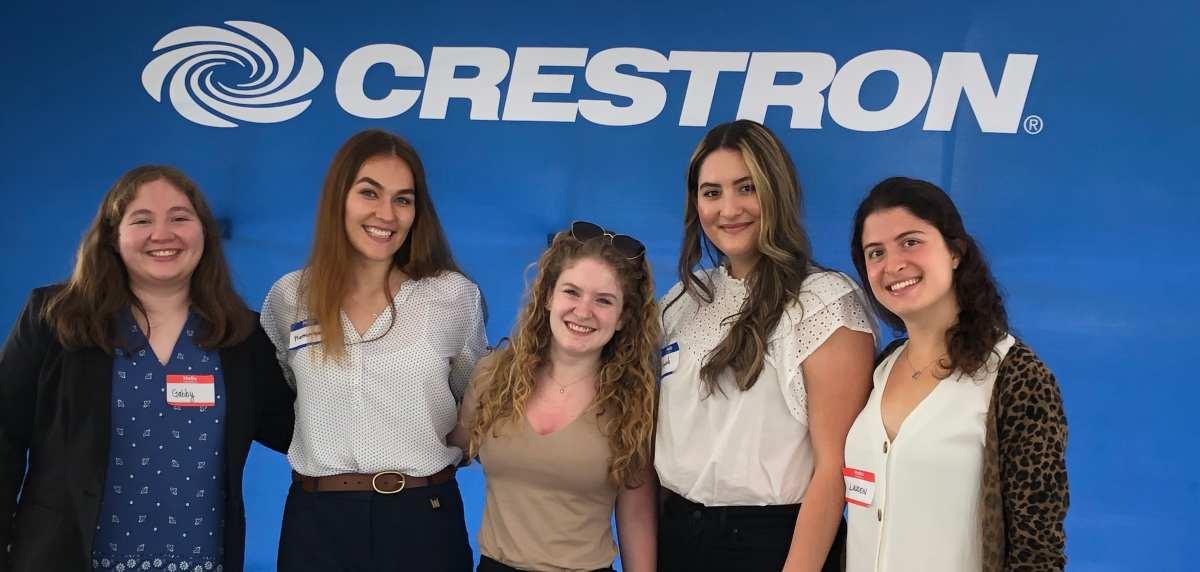 Crestron Internship Program Helps Build Next Generation