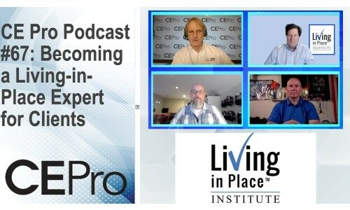 CE Pro Podcast #67: Becoming a Living-in-Place Expert for Clients