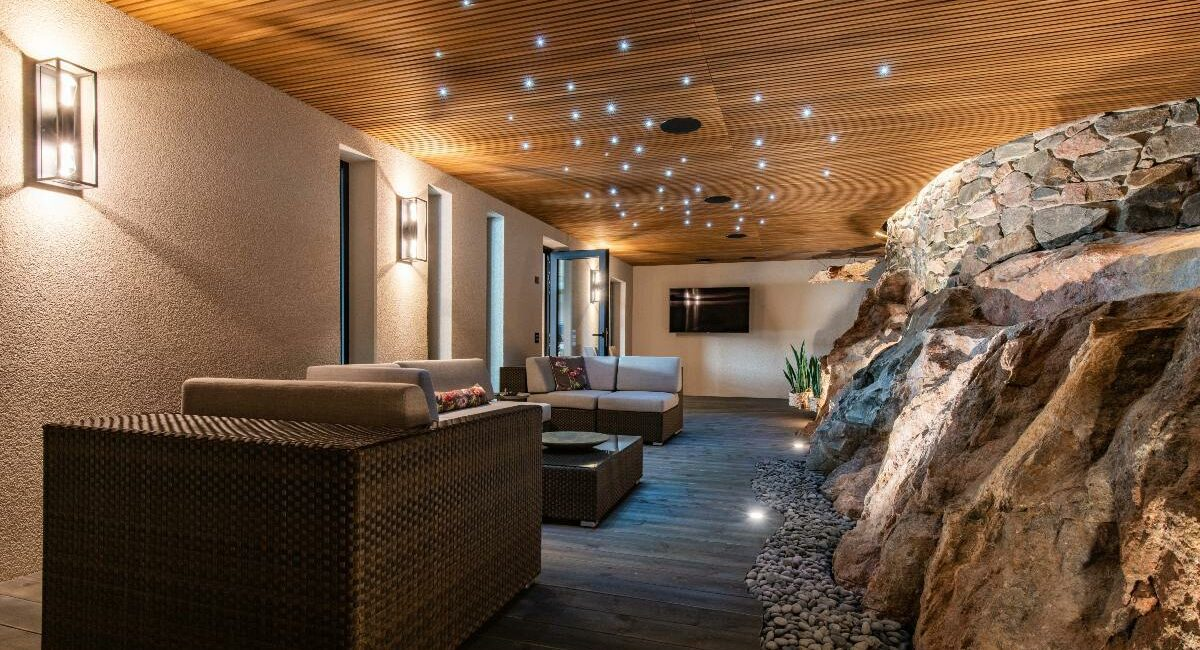 Finnish Luxury Home Features In-Home Golf Simulator, Massive Artificial Skylight, More