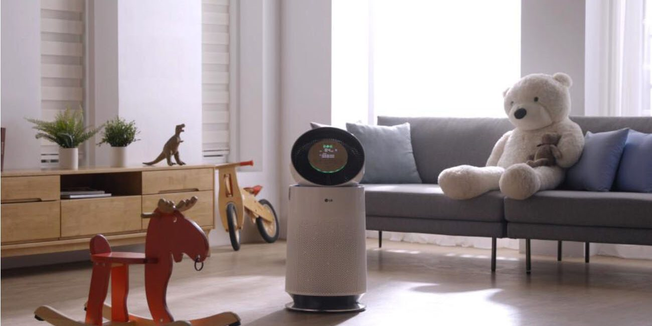 Hands-On: LG PuriCare 360 Air Purifier Improves Air Quality
