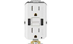 Leviton SmartlockPro 15A GFCI USB Type A Inwall charger