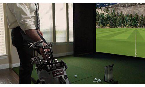 Shop Indoor Golf SIGPRO Premium Golf Simulator Impact Screen
