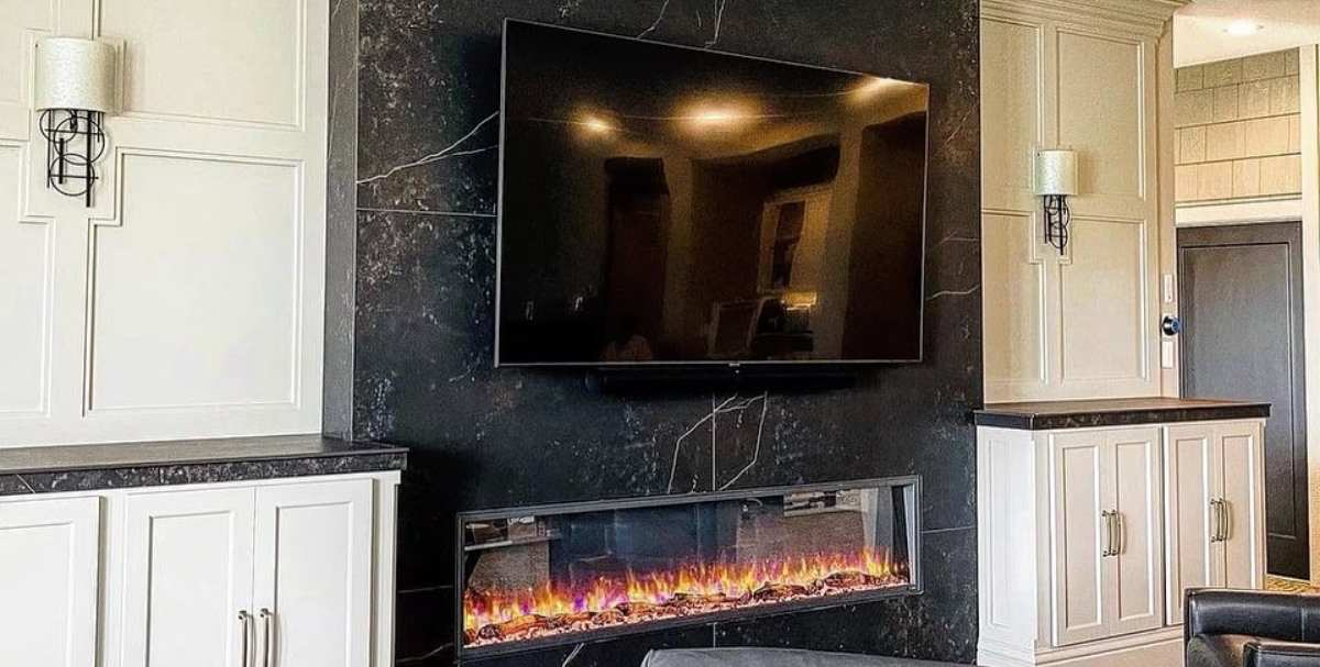 Integrator Finds Ingenious Way to Sell Over-Fireplace TVs
