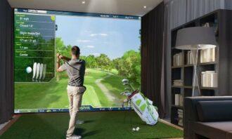 BenQ Blue Core golf simulator laser projectors