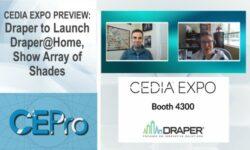 Draper CEDIA Expo 2021 Draper Home Shades