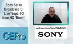 Sony CI Live CEDIA Expo