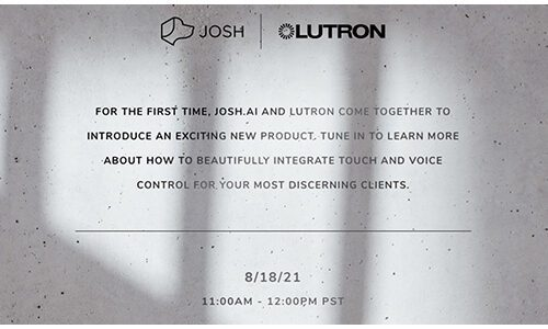 Josh.ai Aug. 18 2021 announcement