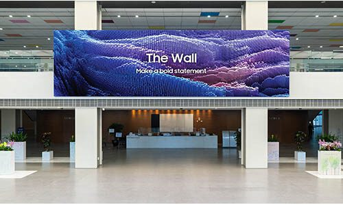 Samsung The Wall ICA series of MicroLED displays