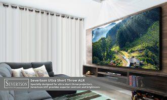 Severtson Screens Ultra Short Throw Series