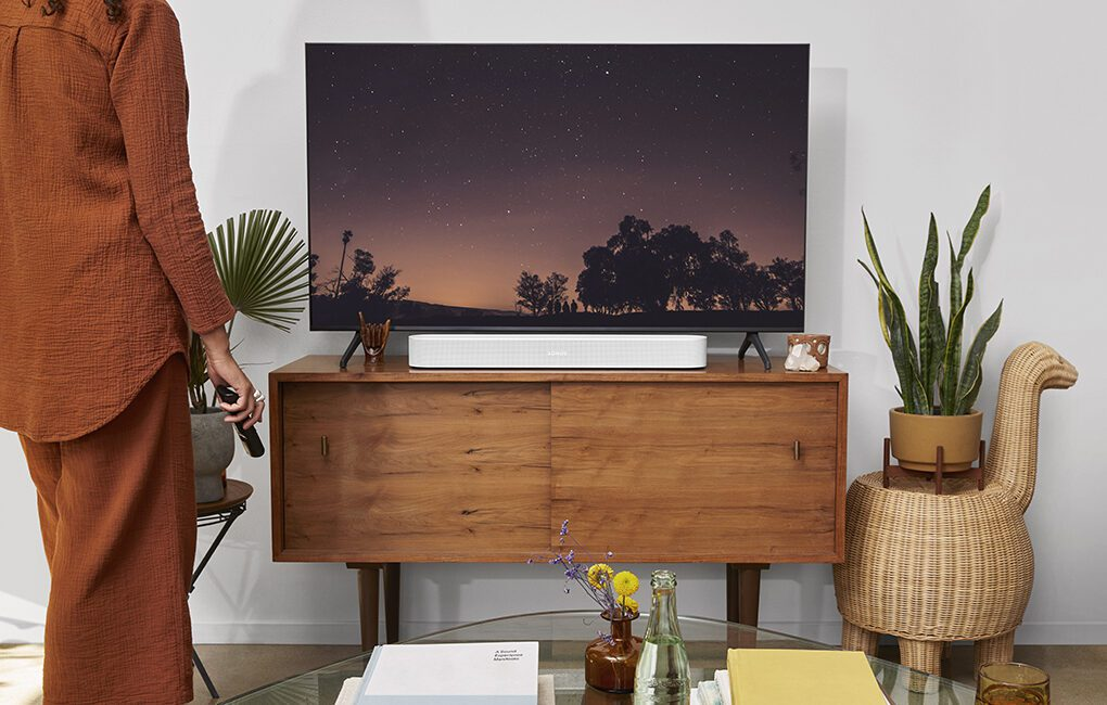 Sonos Beam Gen 2 Supports Dolby Atmos Immersive Audio
