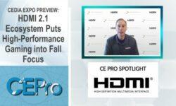 HDMI Licensing CEDIA Expo CE Pro