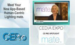 mate LED lighting CEDIA Expo