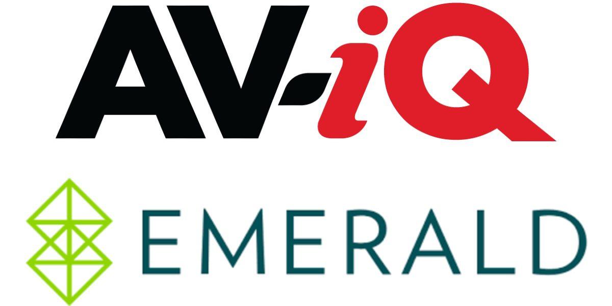 Emerald Increases Commitment to the AV Market Through Strategic Alliance with AV-iQ