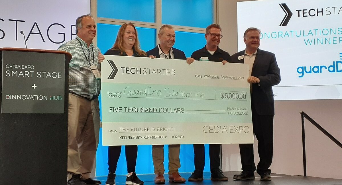 CEDIA Expo 2021: Why Cybersecurity Specialist guardDog Garnered TechStarter Honor