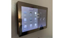 Level Up Automation Control4 touch panel