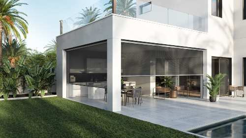 Screen Innovations Zen 2 Shade Solution Transforms Outdoor Spaces
