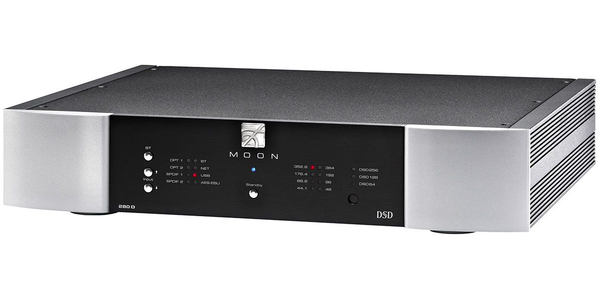 Hands-On: Simaudio Moon 280D DAC Delivers High-End Sound for Reasonable Money
