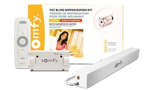 Somfy Clever DIY Tilt Blind Motorization Kit