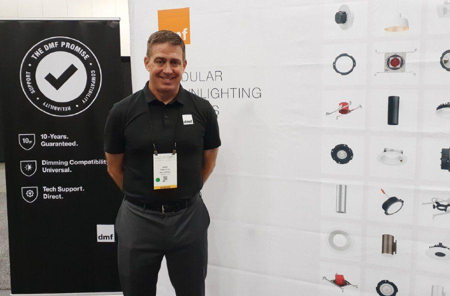 DMF Lighting CEDIA Expo lighting fixtures