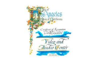 Video and Audio Center LA recognition