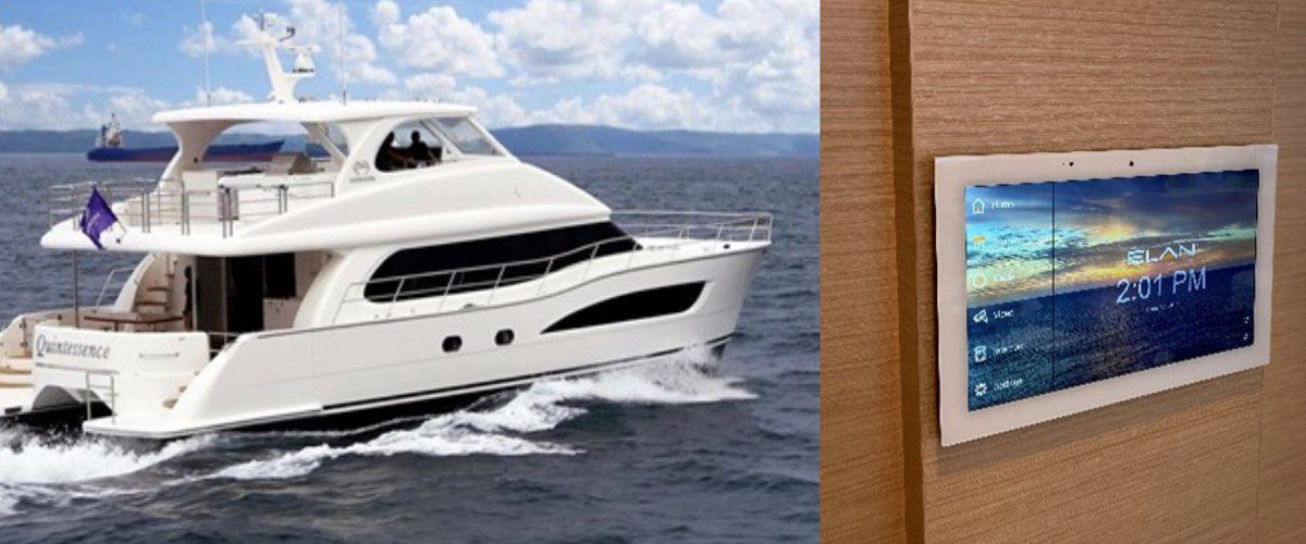 Sound Concepts Uses Extensive Elan System to Enhance Luxury Yacht