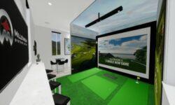 Modus VR Millennium Systems Design golf simulator